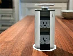 kitchen island electrical outlets amazing pop up outlets kitchen islands pixelkitchenco inside