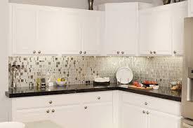 kitchen metal backsplash ideas white countertop white backsplash