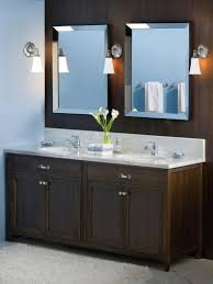 Gray And Brown Bathroom by Gray Bathroom Cabinets White Vanities Brown Marble Top Two Small
