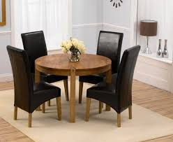 Fabulous Small Black Dining Table And  Chairs Wonderful Appealing - 4 chair dining table designs