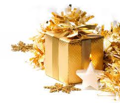 golden xmas merry christmas gift box decoration christmas new year