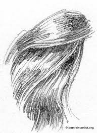sketches of hair close up on hair drawing pinterest draw hair drawings and