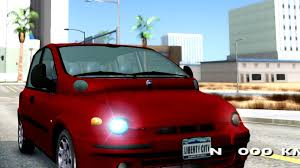 fiat multipla wallpaper fiat multipla normal bumpers gta san andreas youtube