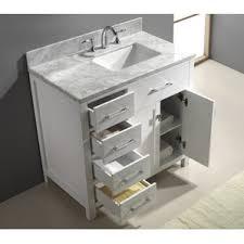 Bathroom Vanity Table Modern Bathroom Vanities U0026 Cabinets Allmodern