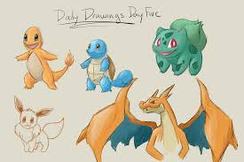 sketch blog pokemon daily drawings catch up 2