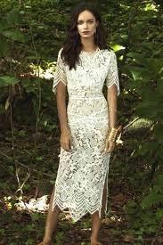 cheap fashion o neck short sleeves white lace sheath knee length