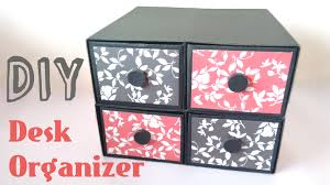 Desk Organizer Box Diy Desk Organizer Drawers By Srushti Patil Youtube
