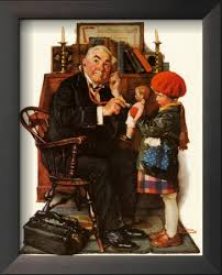 doctor and doll norman rockwell prints