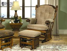 Rocking Chair Ottoman Replacement Cushions For Glider Rocking Chairs Ottoman Splendid