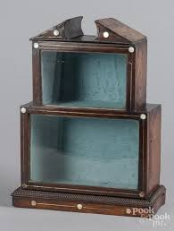 table top display cabinet regency mahogany table top display cabinet price estimate 140