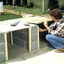cuisine exterieure beton plan de travail exterieur plan de travail pour barbecue exterieur