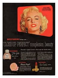 westmore cosmetics marilyn westmore cosmetics advert 1950s cosmetic arts