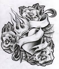 heart and roses tattoos best flowers and rose 2017