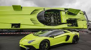 Lamborghini Aventador Neon Green - lamborghini aventador sv and matching lamboat for sale 95 octane