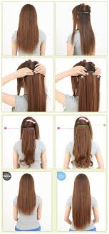 best clip in extensions best photo of hairstyles with clip in extensions