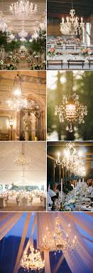Wedding Chandelier Wedding Decorations 40 Ideas To Use Chandeliers
