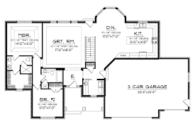 home plan open house plans with large kitchens 14 bold and modern home plan