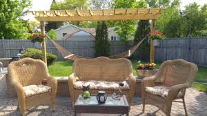 Swing Pergola Pergola Build For Hammock