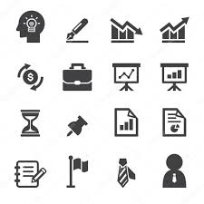 telecharger icone bureau icône de bureau et d entreprise image vectorielle jacartoon