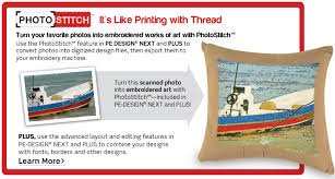 pe design international home sewing machine and embroidery machine