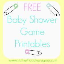 photo baby shower games door image