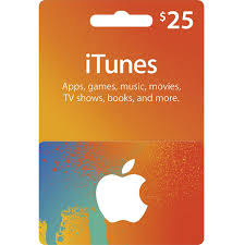itunes card usd 25 for us accounts only digital digital gift