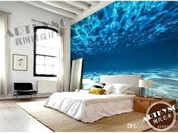ocean themed home decor ocean home decor charming deep sea photo wallpaper custom ocean