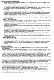 Police Chief Resume Examples by Michael Wood Jr On Twitter