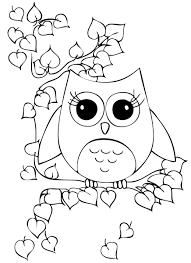 cool coloring pages of owls best coloring desi 4197 unknown
