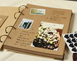 photo albums wedding albums scrapbooks etsy