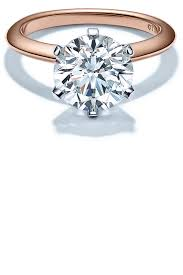 tiffany sparklers ring in 18k rose gold engagement rings rose gold engagement rings and