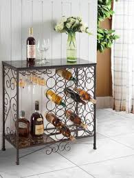 pilaster designs console tables wine racks