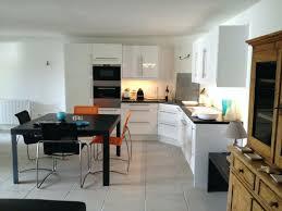 deco salon et cuisine ouverte deco a vivre avec cuisine ouverte beau amenagement salon