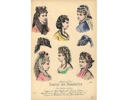 how to style hair for 1900 43 best hair 1870 1880 images on pinterest vintage hairstyles