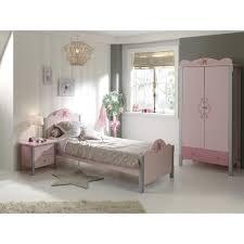 ensemble chambre fille ensemble chambre fille avec lit 90x200 cm chevet armoire 2 portes