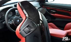 bmw m3 seats psi launches carbon fiber bmw m3 and m4 seatback trims autoevolution
