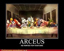 Last Supper Meme - the last legendaries pokémemes pokémon pokémon go