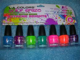 l a colors color craze extreme brights collection review