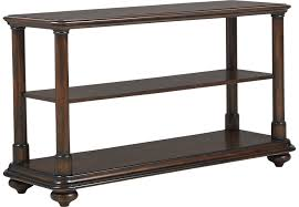 rooms to go accent tables cindy crawford home bali breeze brown sofa table sofa tables dark wood