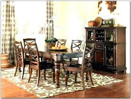 what size rug under dining table rug under kitchen table medium size of dining for round dining table