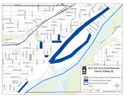 Emerald Ash Borer Map Structured Removal Saint Paul Minnesota