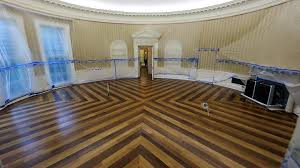 white house renovation 2017 the empty oval office check out scenes from the white house s