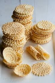 vanilla pizzelles recipe vanilla wafer cookies and food