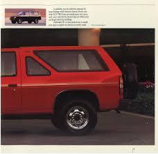 nissan pathfinder spare tire 1988 nissan pathfinder dealer brochure nicoclub
