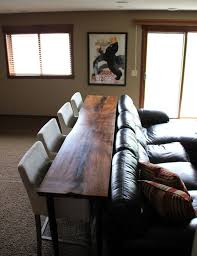 living room bar table creative ways to style a small apartment alta vista properties