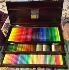 prismacolor pencils 150 excuse for holbein 150 wood box set wetcanvas