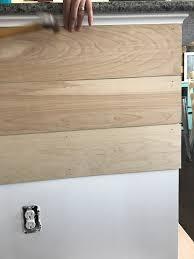 First Home Renovation Wall Wood by Diy U2013 Mrschappy Com