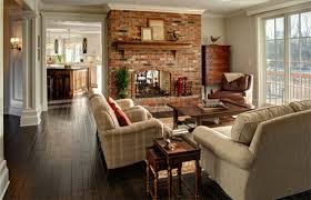 the love of red brick fireplaces hart denoble builders