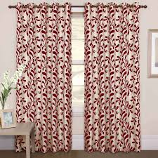 Cream And White Curtains Red And White Curtains For Living Room Techethe Com