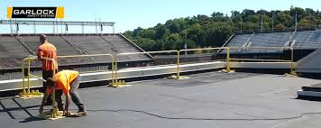 Temporary Handrail Systems Railing Rental System For Fall Protection
